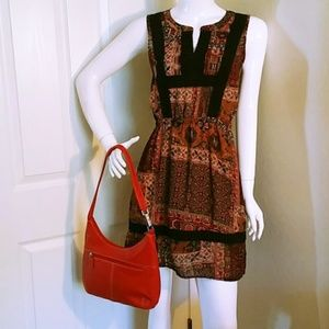 Miss Me Sleeveless Mini Dress